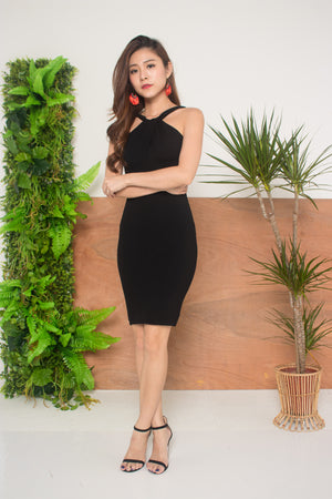 Esthe Criss Dress in Black