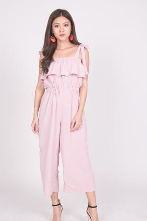 Yesmine Jumpsuit in Pink