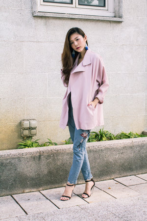 LUXE - Tesale Parka in Pink