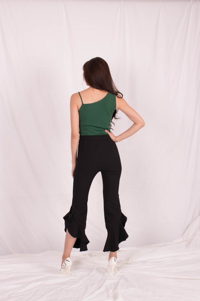 Load image into Gallery viewer, *PREMIUM* - Quelia Bell Pants in Black