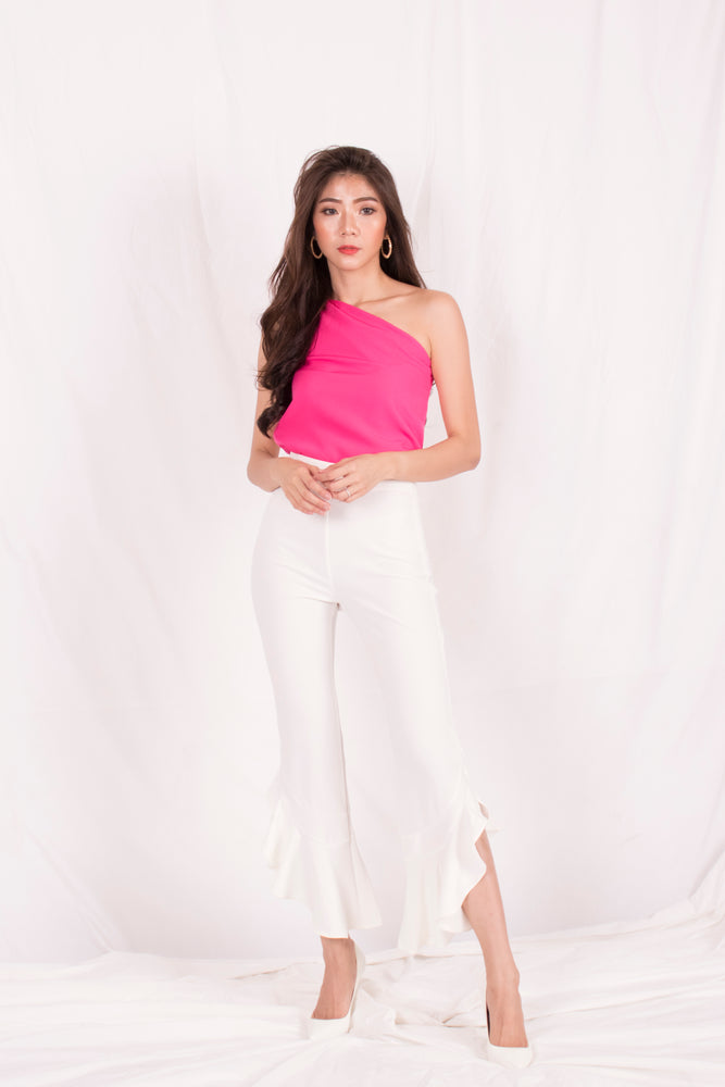 Load image into Gallery viewer, *PREMIUM* - Quelia Bell Pants in White