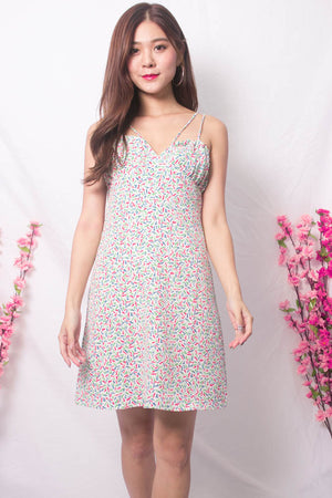 Casey Babydoll Floral Dress