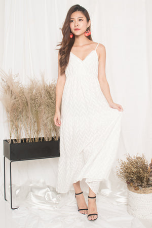 Agotha Maxi Dress in White