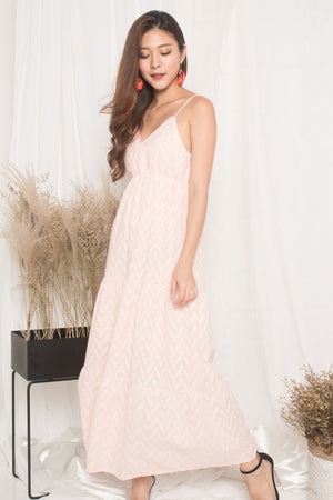 Agotha Maxi Dress in Pink