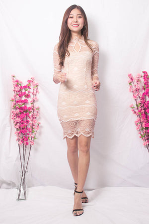 * LUXE * Eriwea Crochet Lace Dress