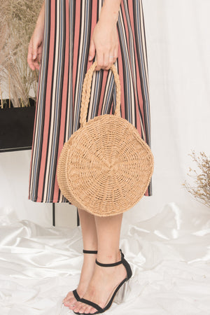 *LUXE* - Jerimanda Straw Handcarry Bag
