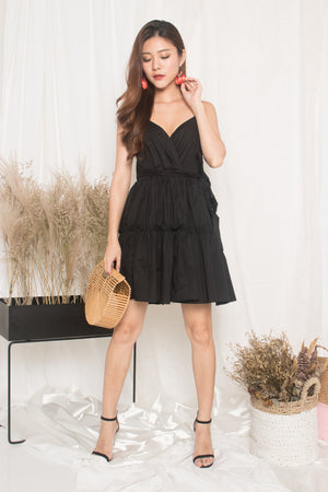 Oksar Layer Dress in Black