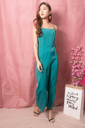 * LUXE * Stacie Jumpsuit in Teal