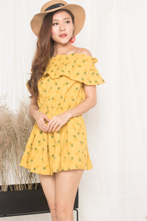 Load image into Gallery viewer, Pineapple Maximum Offsie Dress