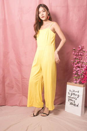 Load image into Gallery viewer, * LUXE * Stacie Jumpsuit in Yellow