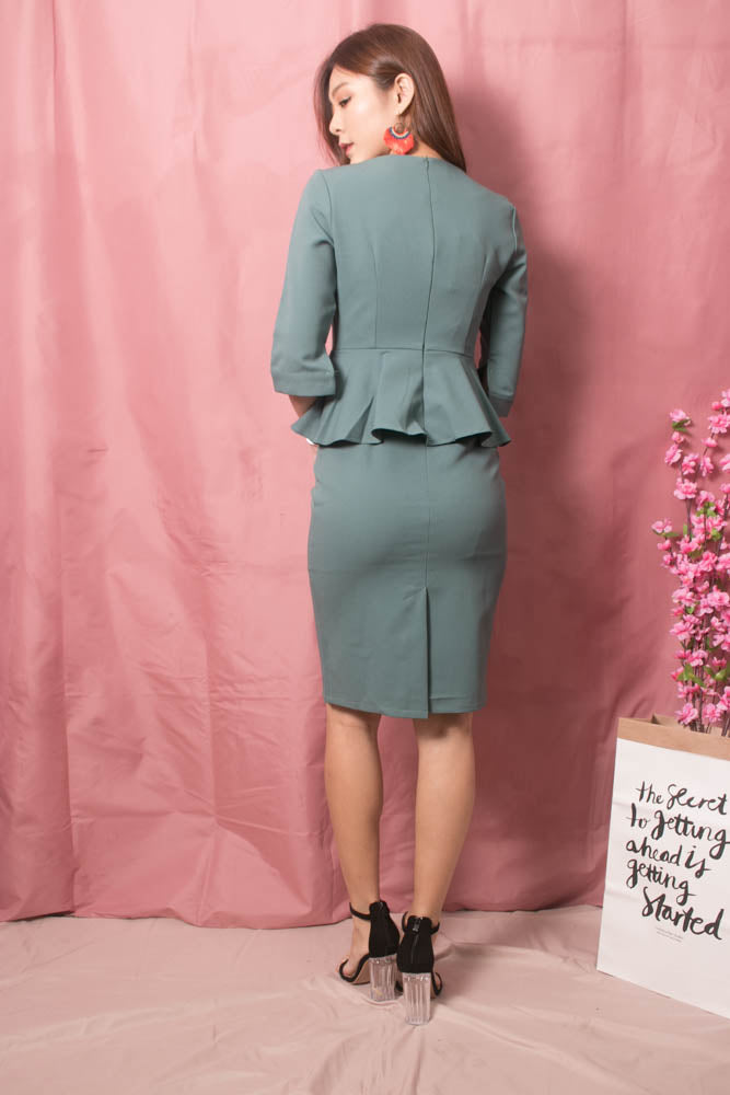 Load image into Gallery viewer, Norah Corporate Button Dress