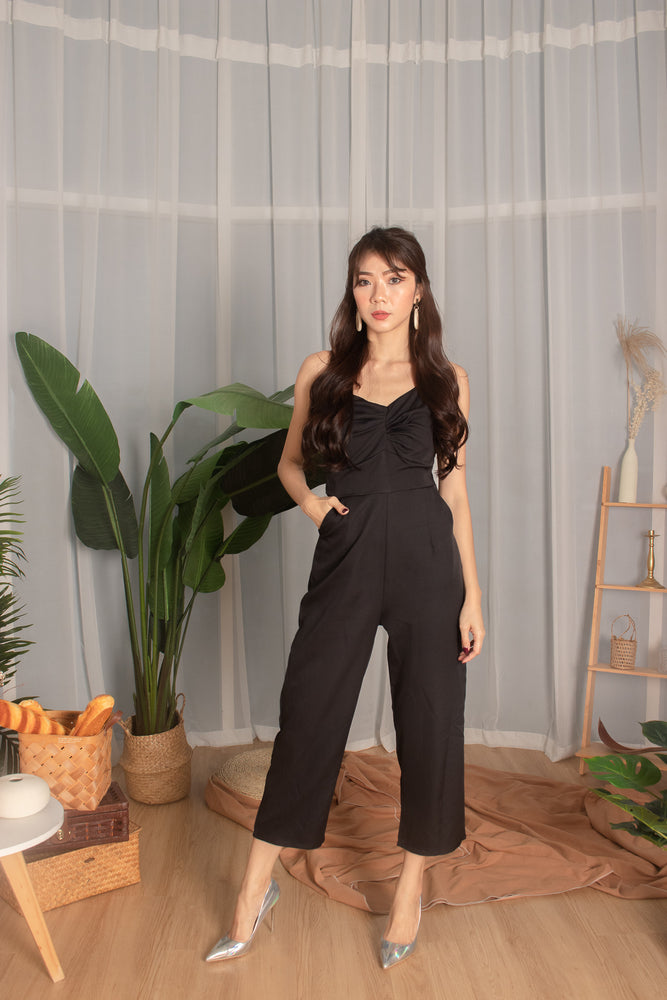 *PREMIUM* - Tiaralia Cami Jumpsuit in Black