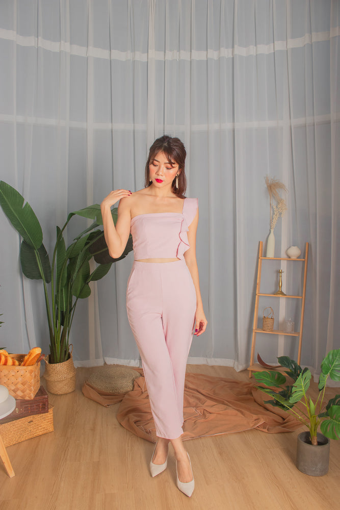 *PREMIUM* - Milia Pants in Pink - Self Manufactured by LBRLABEL