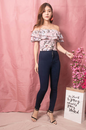 Luisee Floral 3 Ways Top in Pink
