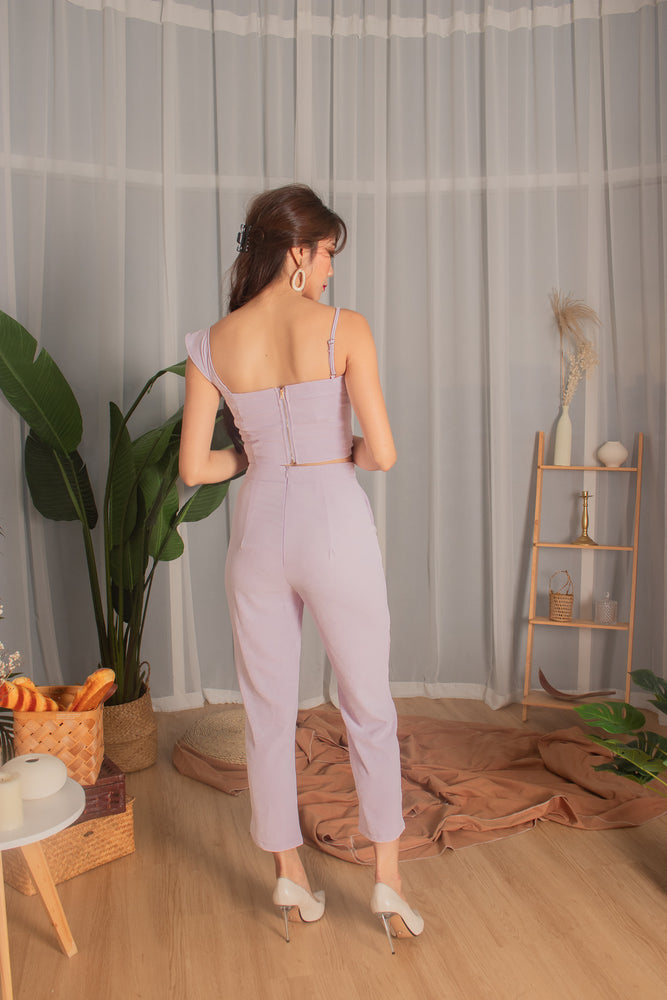 Load image into Gallery viewer, *PREMIUM* - Milia Pants in Lilac - Self Manufactured by LBRLABEL