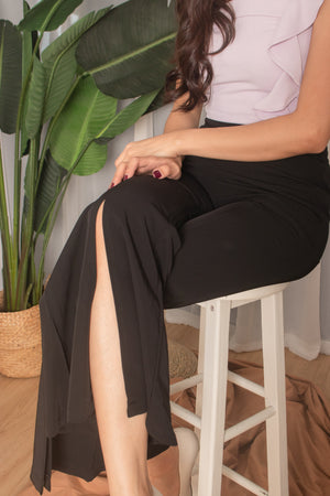 Load image into Gallery viewer, *PREMIUM* Jonilia Slit Pants - Self Manufactured by LBRLABEL