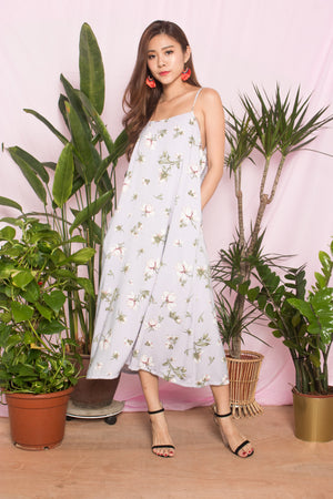 Ferler Printed Floral Dress