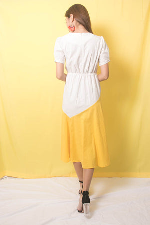 Saheila Duo Tone Dress
