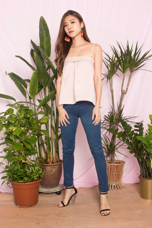 Muliah Spag Top in Pink