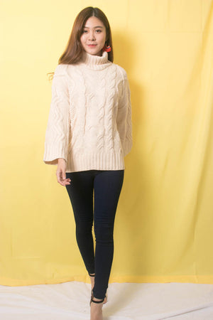 Sequea Knit Pullover in Cream