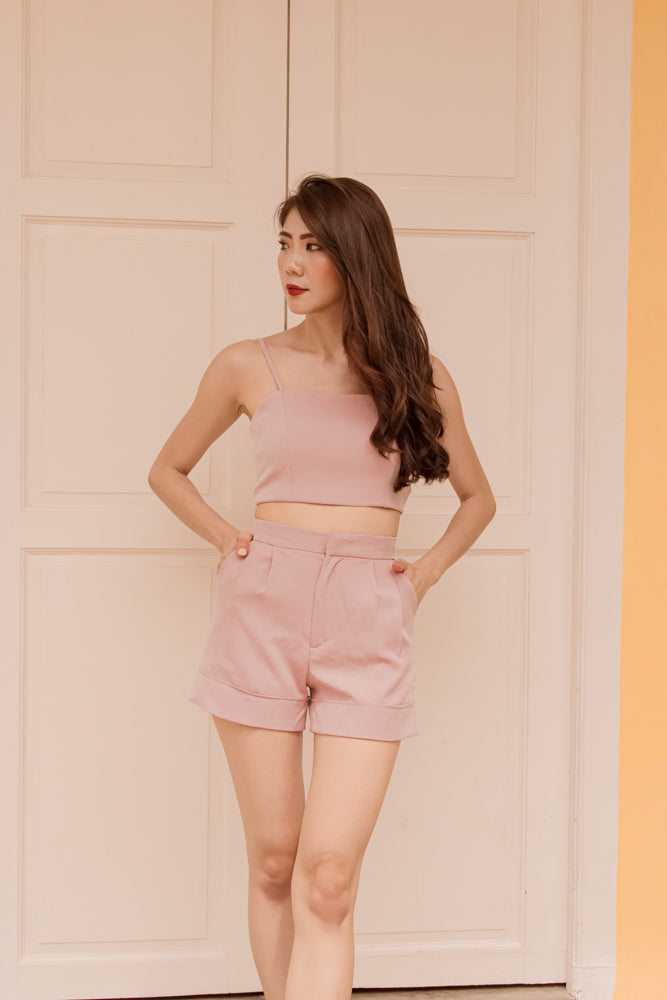 *PREMIUM* - Coralia Shorts in Pink  - Self Manufactured by LBRLABEL