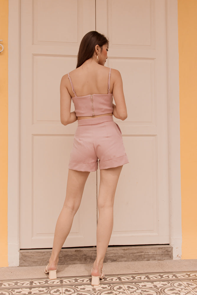 Load image into Gallery viewer, *PREMIUM* - Coralia Shorts in Pink  - Self Manufactured by LBRLABEL