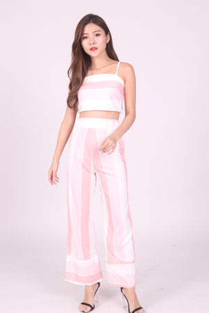 Eliane Two Piece Stripes Set