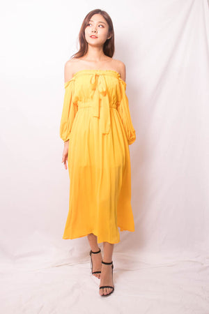 Load image into Gallery viewer, Jestinna 2 Ways Maxi Dress in Sunshine