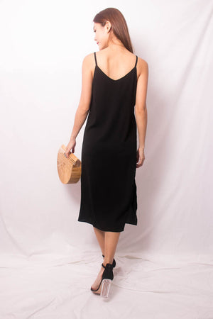 Niedra Cami Dress in Black