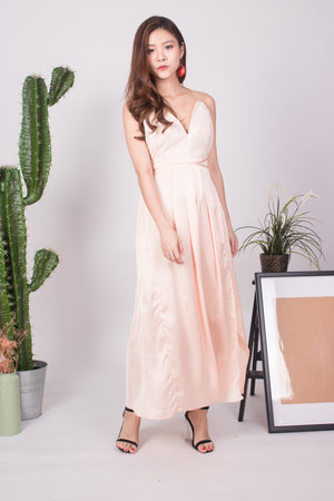 * LUXE * Nesaliza Sequin Gown in Pink