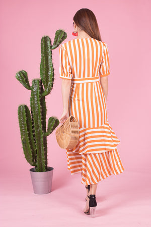 *LUXE* Unda Stripes Dress