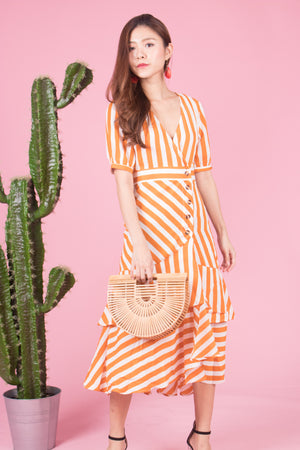 Load image into Gallery viewer, *LUXE* Unda Stripes Dress