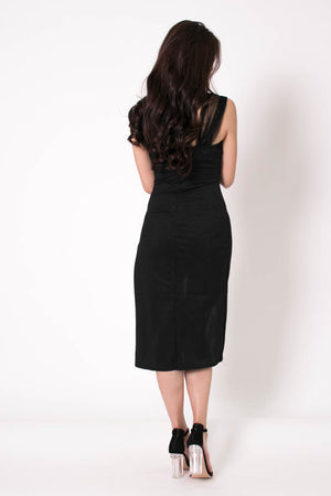 Ray Asymmetrical Dress