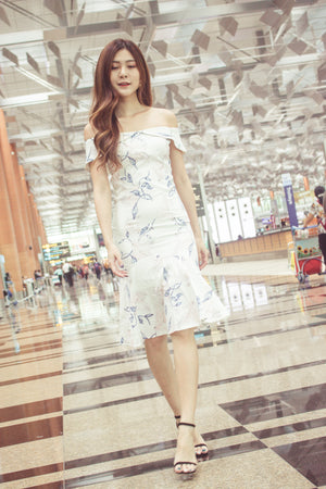 Load image into Gallery viewer, * LUXE * - Sarahlyn Offsie Floral Dress