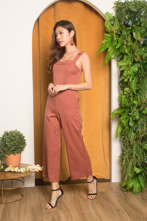 Eljina Jumpsuit in Blush