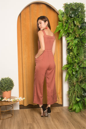 Load image into Gallery viewer, Eljina Jumpsuit in Blush