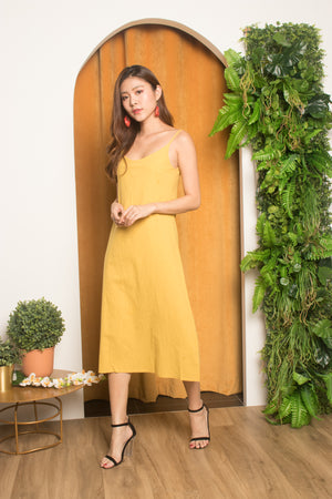 Bylea Cami Spag Dress in Sunshine