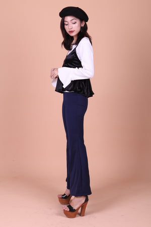 Clarissa Bell Pants in Navy