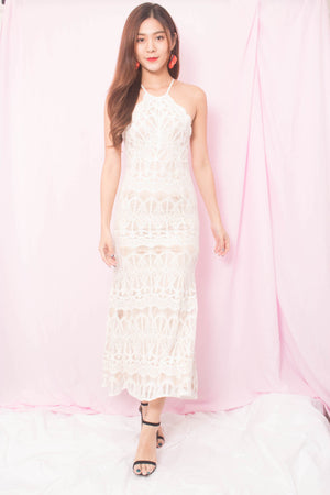 * PREMIUM * Annabellie Crochet Maxi Dress