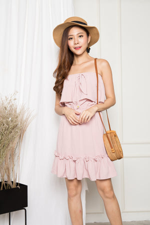 TARNALYN TUBE DRESS IN PINK