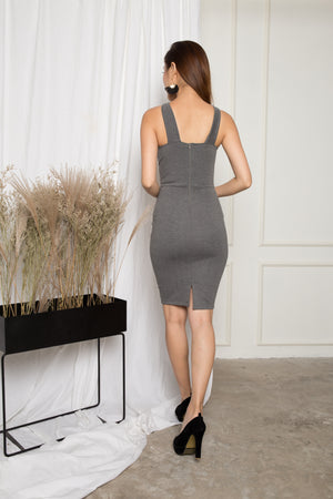 Esthe Criss Dress in Grey