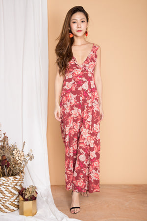LUXE - Marlee Floral Jumpsuit