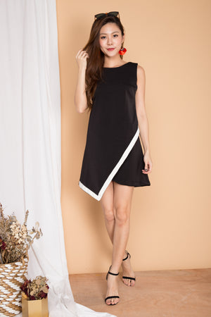 Ximena Corporate Dress in Black