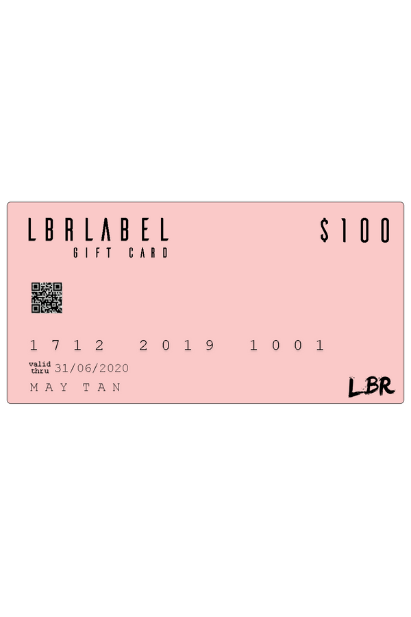 $100 LBR Gift Card
