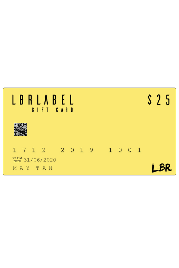 $25 LBR Gift Card