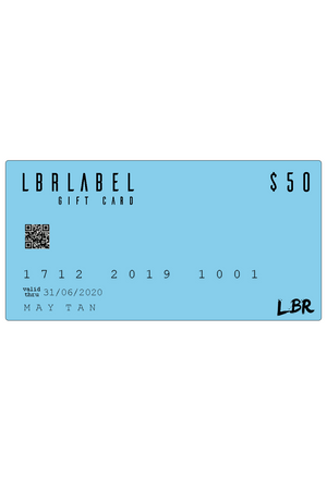 $50 LBR Gift Card