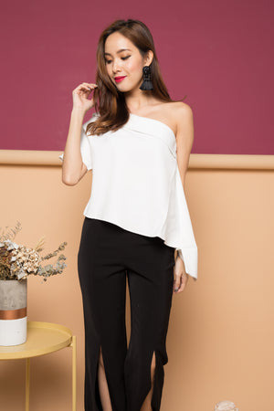 Jodalle Toga Top in White