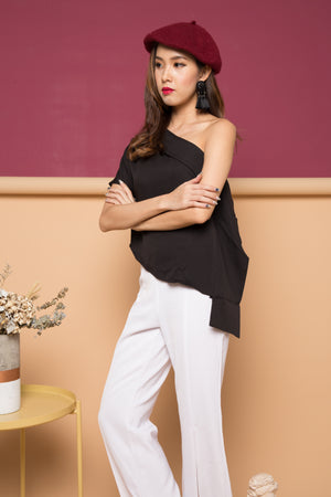 Frina Bell Pants in White