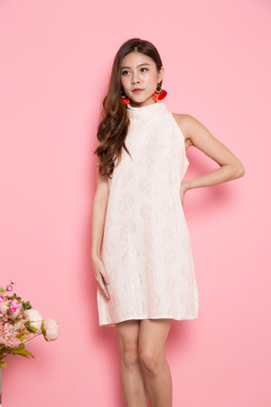 Pellsa Oriental Dress in Pink