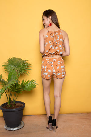 Tesey Casual 2 Piece in Orange